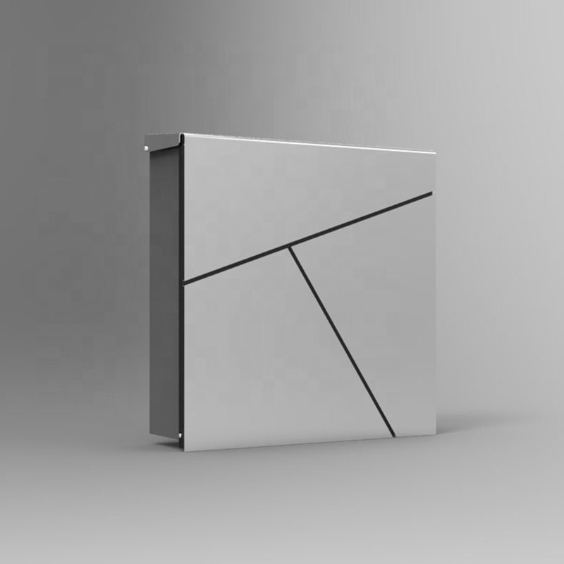 Customized Stainless Steel Waterproof Wall Mount Mailbox