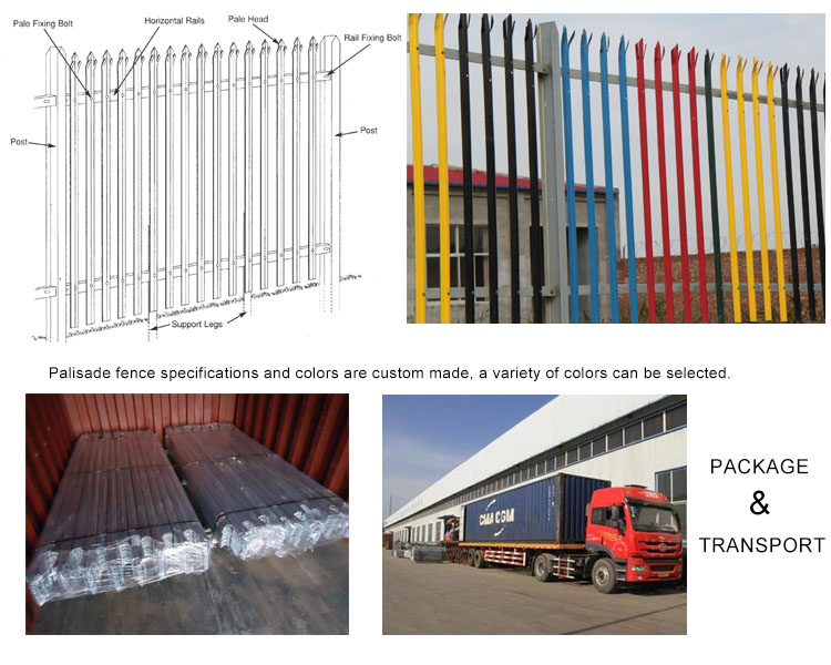 Commercial Industrial fencing