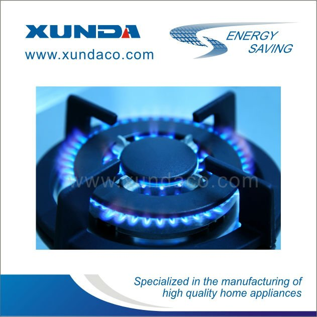 Glass Cover CE Gas Burner