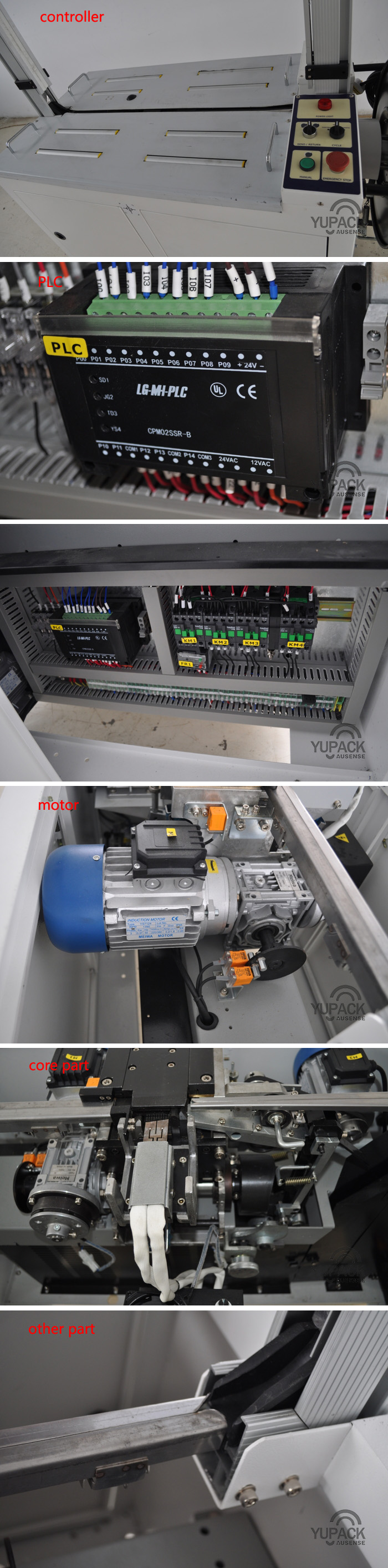 Carton/Box Automatic PP Belt Strap/Strapping Machine with PLC and Ce