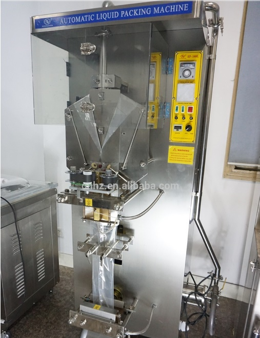 Automatic Liquid Packing Machine Exported in Middle East with 220V