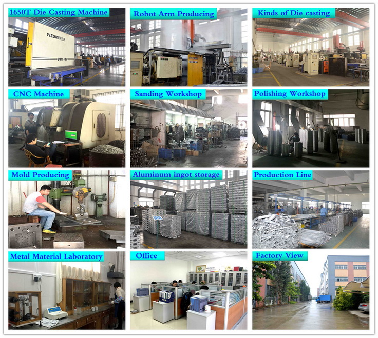 China Supplier Aluminum Die Cast Mould Making