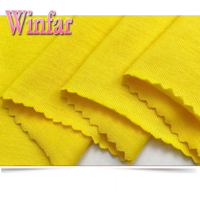 100 Spun Polyester Knitted Fabric