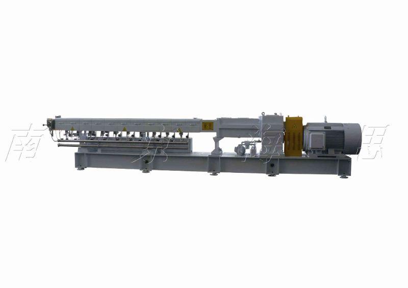 Tse-75b Nanjing Hs PVC Compounding Line for Twin Screw Extruder