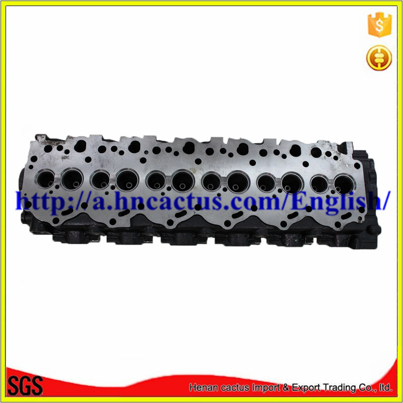 1HD-T Auto Cylinder Head for Toyota Engine 11101-17040 / 11101-17020 4.2td L6 V12