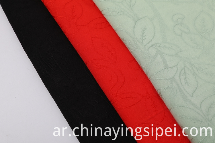 2020 New Products Dyed Woven Rayon Jacquard Fabric