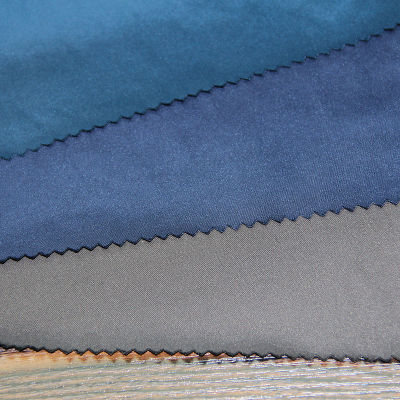 100% Polyester Memory Fabric for Woven Bomber Jackets