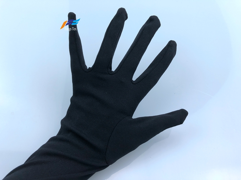 Cheap Price 100% Polyester Muslim Sleeves Islamic Gloves 2