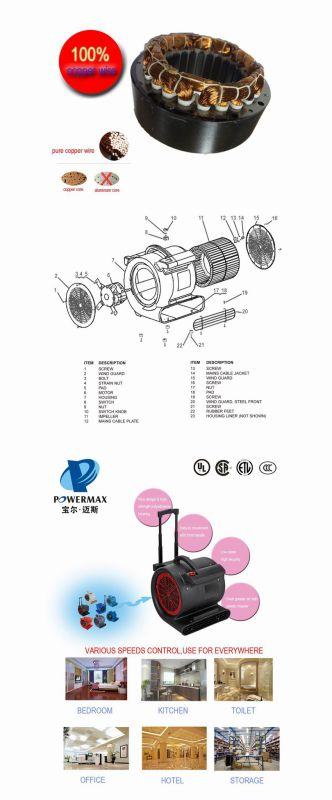 120V Fan Blower (air blower) Pb25001