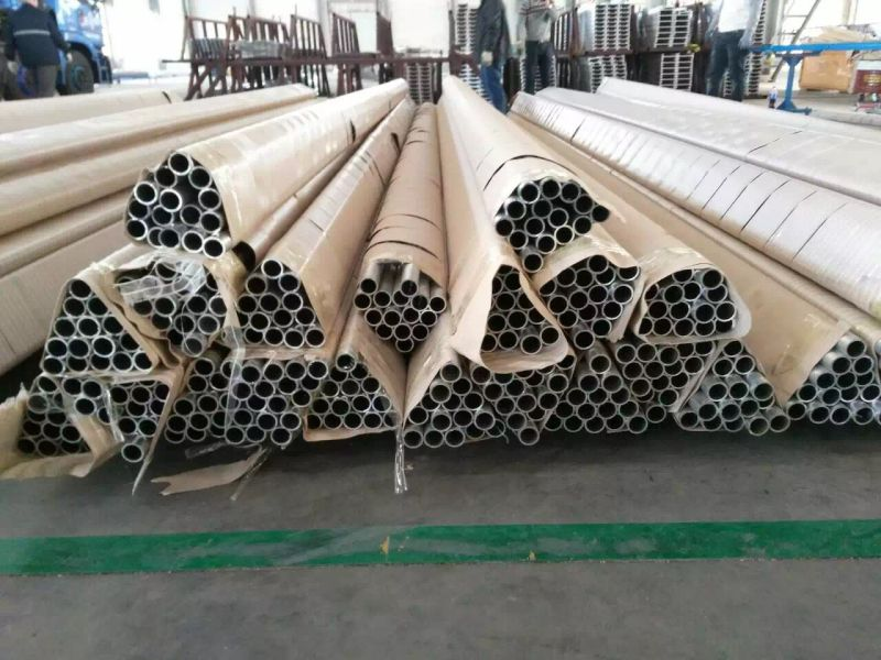 Aluminium Alloy Tube for Railing Handrail and Furniture Making
