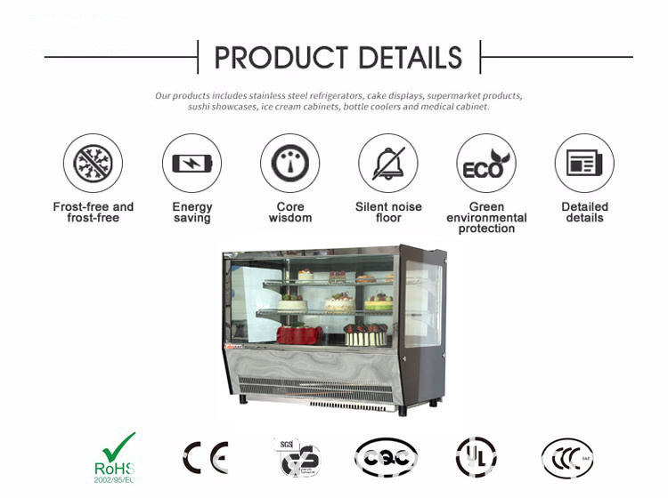Compact Refrigerated Display Fridge