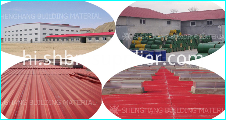 High Strength Environmental Friendly Roof Tile