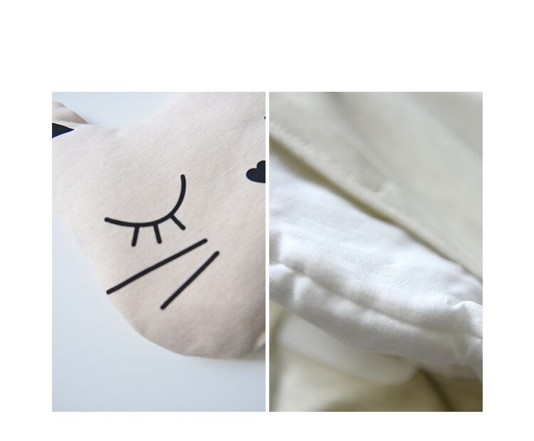 Organic Cotton Baby Pillow with