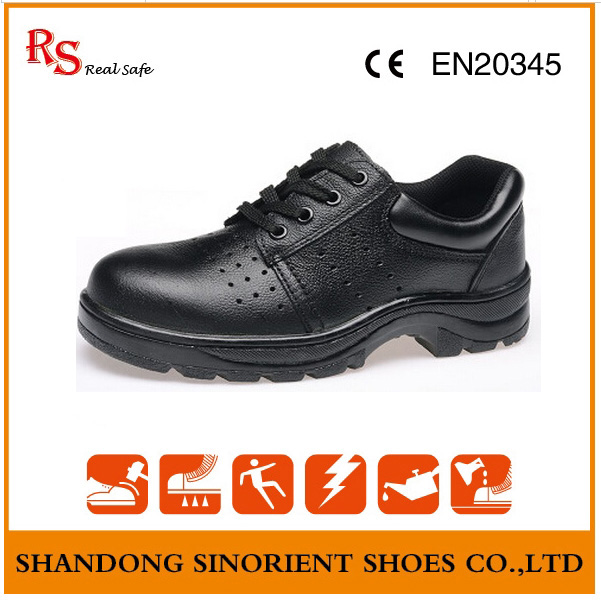 Breathable Lining Air Hole Summer Safety Shoes RS97