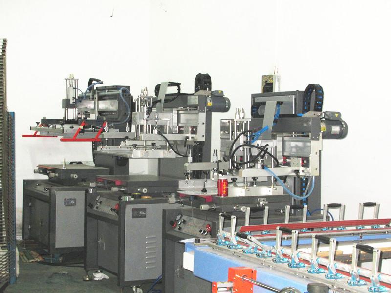 TM-2030b PLC+Single Servo Motor Super Precision Vertical Screen Printer