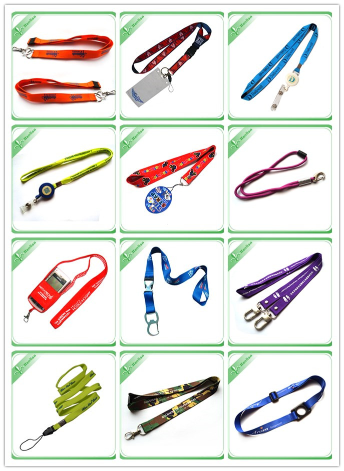 Promotional Polyester Flat Sublimation Printing Lanyard
