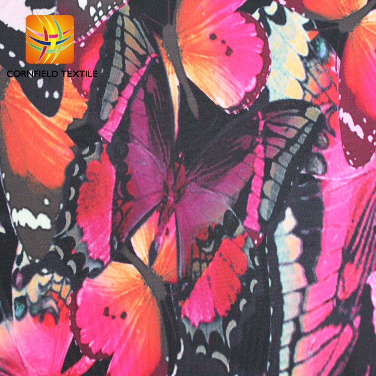 Digital Print Scuba Knit Fabric