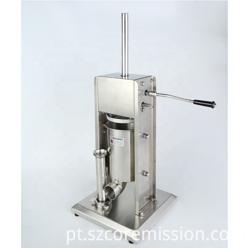 Home Stainless Steel Manual Sausage Stuffing Machine