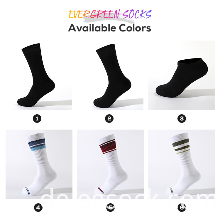 custom logo dress socks