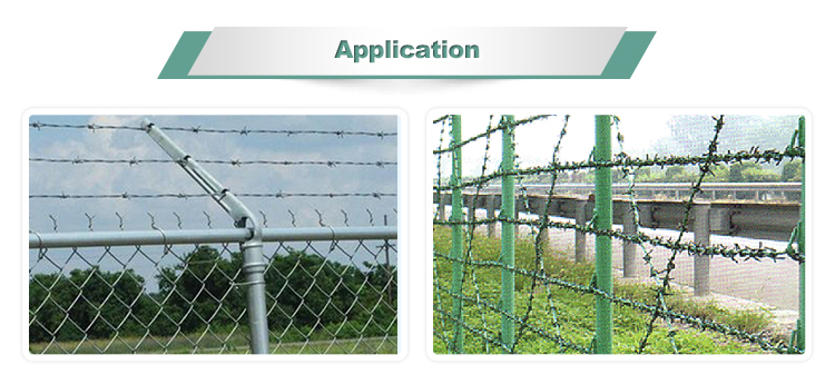 barbed wire mesh fence