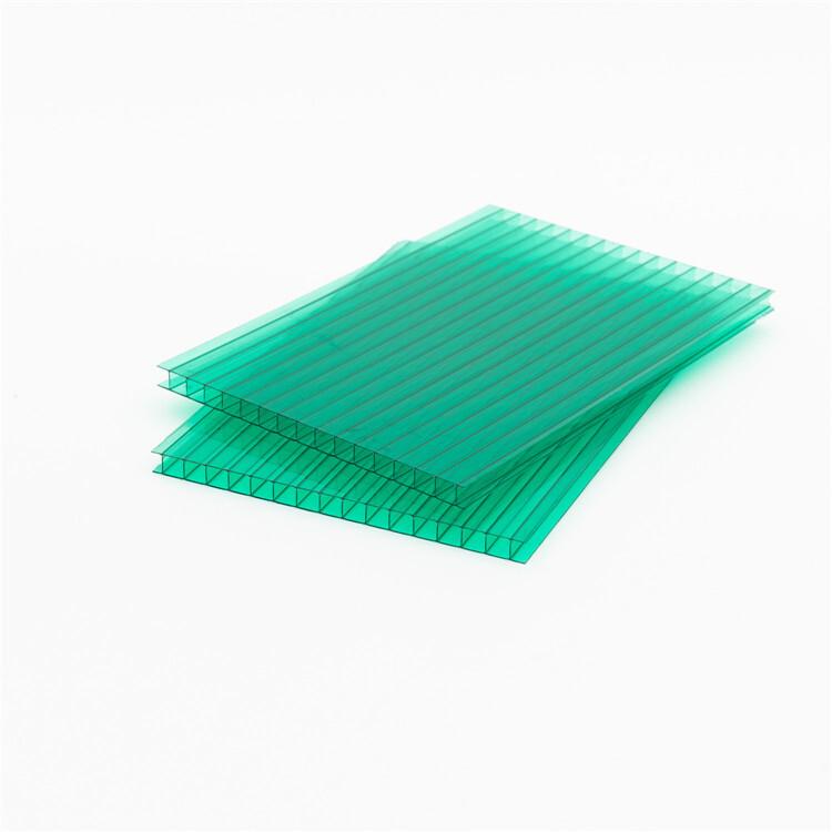 sun sheet 6mm hollow polycarbonate