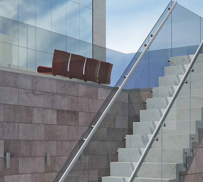 Stair Railing Glass