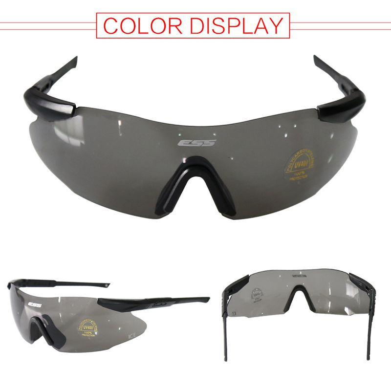 Ultralight Cycling Glasses Outdoor Sports Glasses Windproof Glasses Black Lens