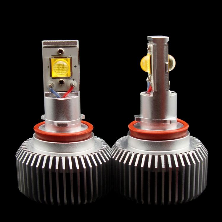 H11 CREE 18*2W Cool White AC/DC8-28V LED Fog Lamp (H11GLJGD-18C)