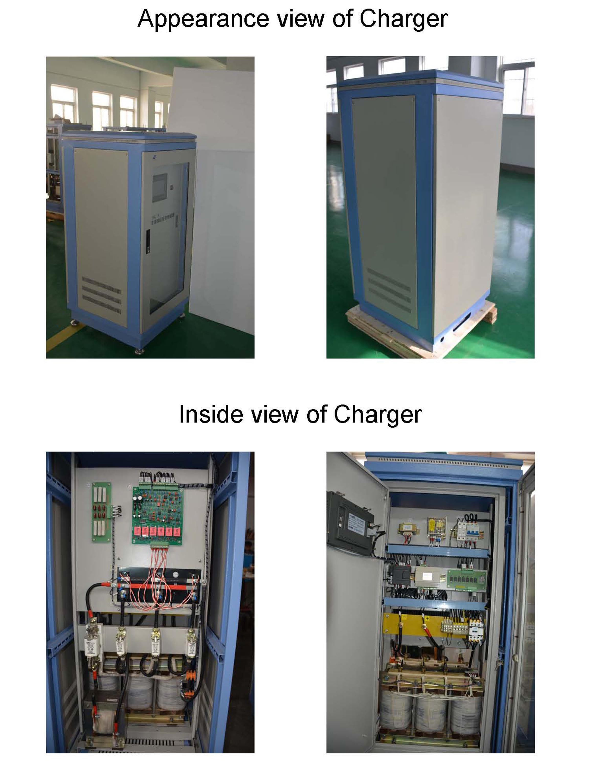 Automatic Guided Vehicle Battery Charger