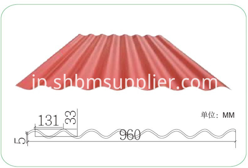 High Strength Fireproof PET MgO Roofing Sheets