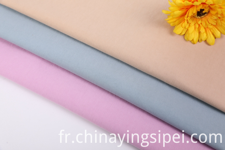 Keqiao manufacturer wholesale textiles solid plain woven cotton nylon blend fabric