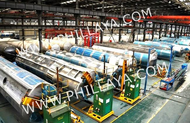 Commercial Vehicle Aluminum Alloy Fuel Oil Tank Tanker Semi Trailer