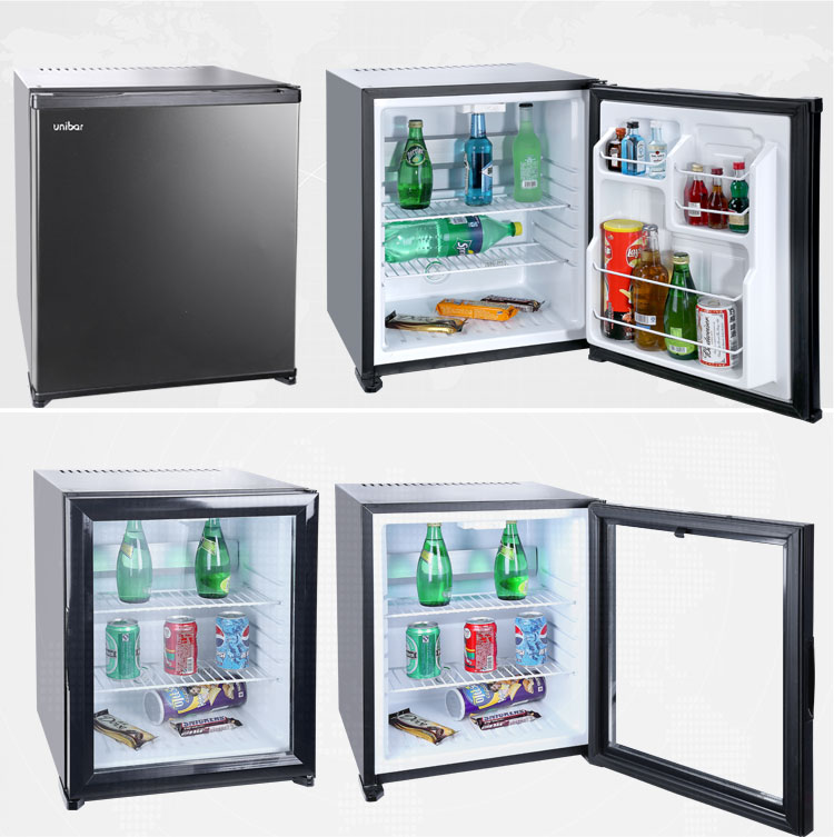 Glass Minibar Fridge