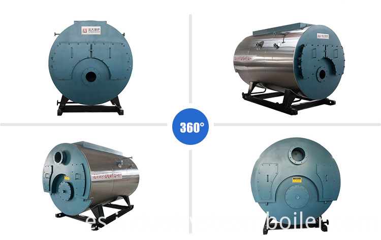 Fire Tube Steam Boiler for Petroleum Industry