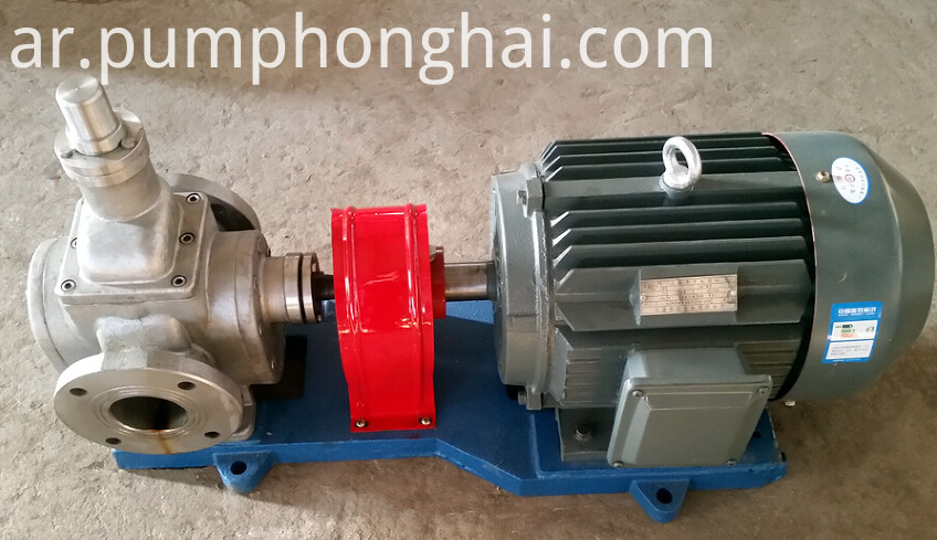 stainless steel food grade oil transfer pump
