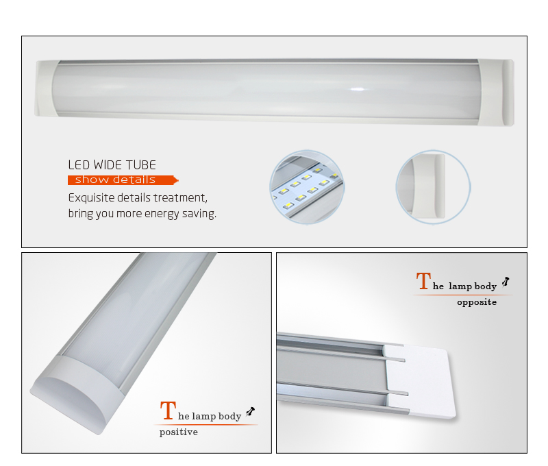 LED Wide Tube (TE series)