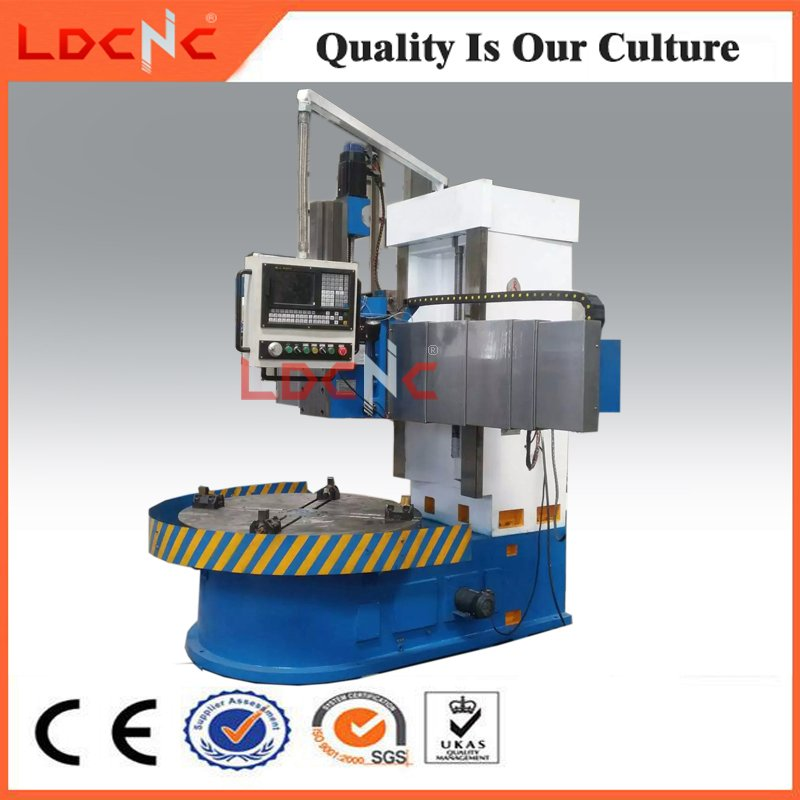 High Precision Vertical Lathe for Processing Tire Mold