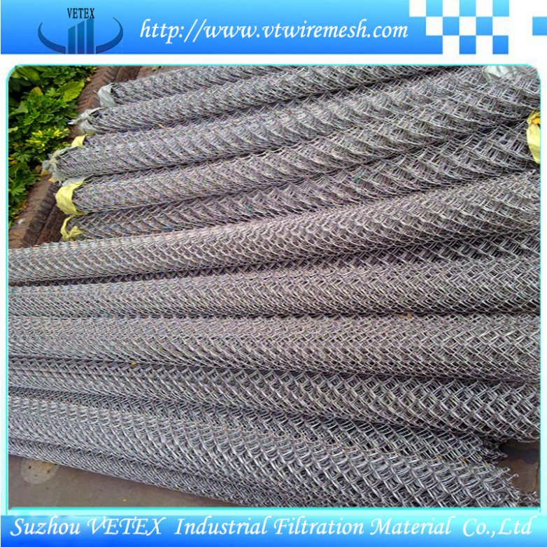 Corrosion-Resisting Chain Link Fencing Mesh Used in Playground