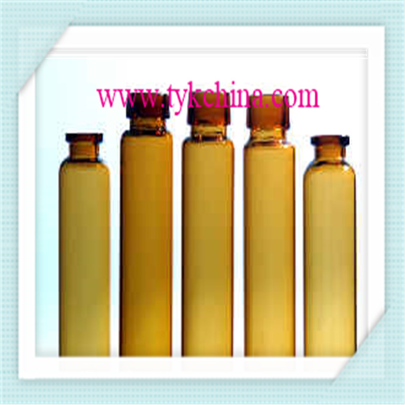 Clear and Amber Injection Glass Vial Bottle for Pharmacy by Neutral Glass Tube