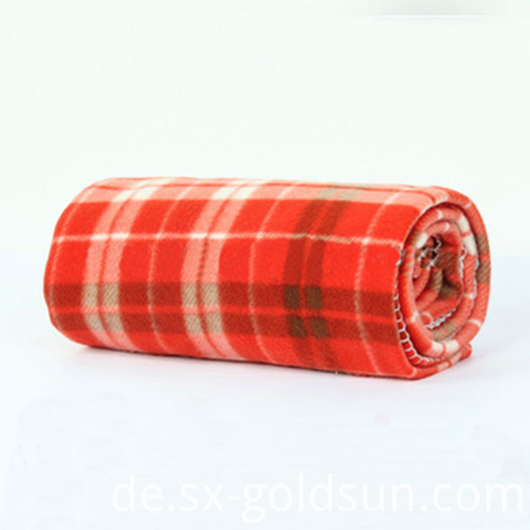 Plaid Moving Blanket