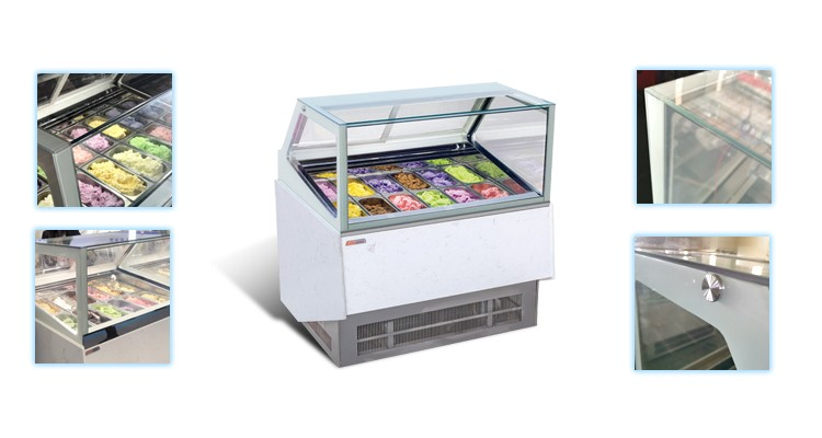 Popsicle Display Cabinet