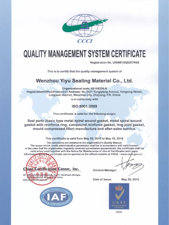 Bx157 F51/Ss347 Bx Gasket Material