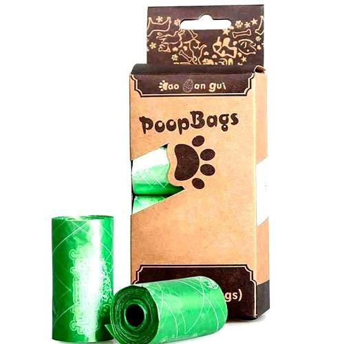 Plastic Bag Pet Waste Bag Scented Dog Poop Bag