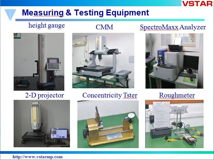 Precission Machining Part for Medical Equipment with Top Quality Precision Part Vst-0001