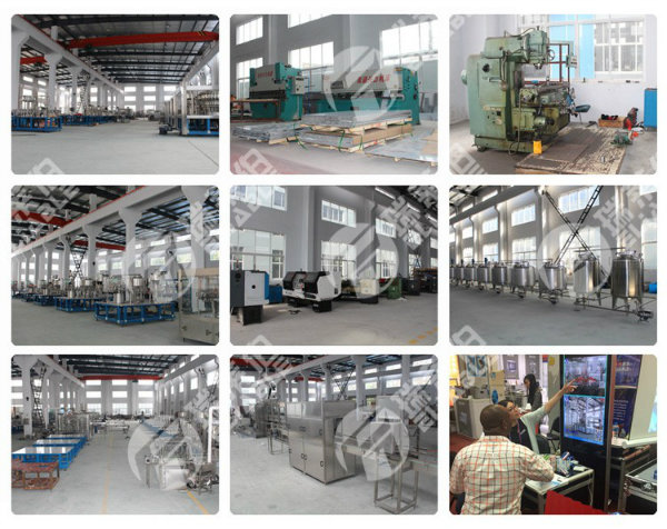 Carbonated Soft Drink 3 in 1 Filling Line Machines