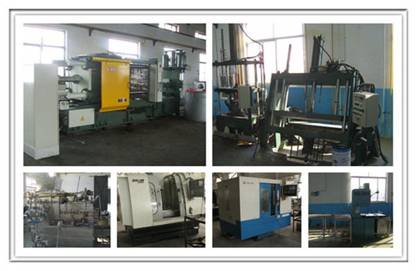 Casting Aluminum Parts Die Casting Products for Wind Turbine