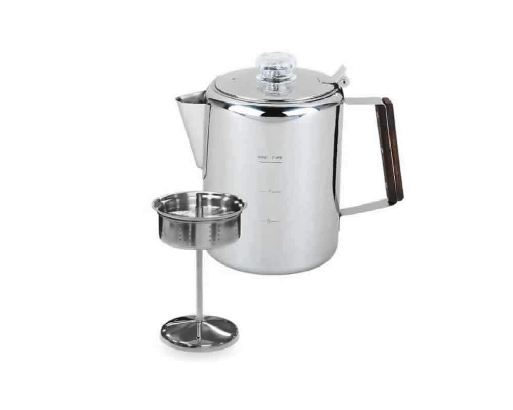 Commercial stainless steel coffee pot for coffee shop