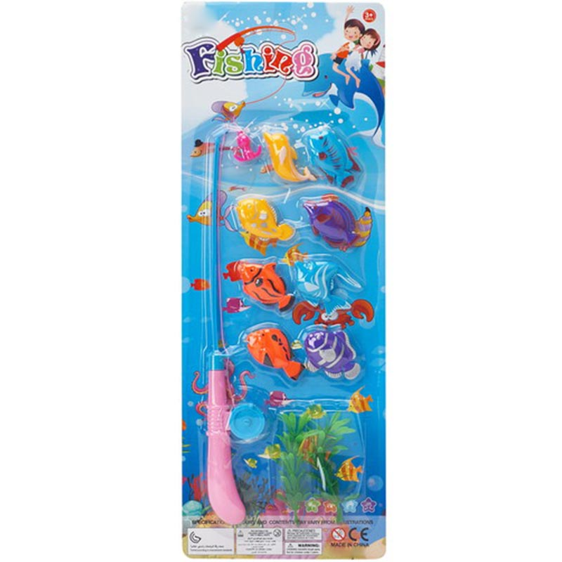 16PCS Fishing Suits Series Game Fishing Toy
