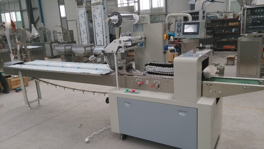 Pillow packing machine/ mask packing machine