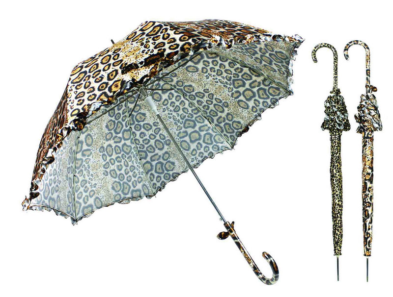 Straight Automatic Animal Skin Print Umbrella (YS-SA23083927R)